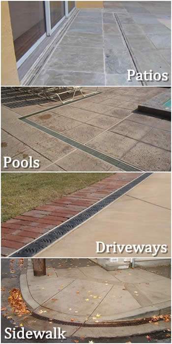 Residential Drainage - Typical Applications