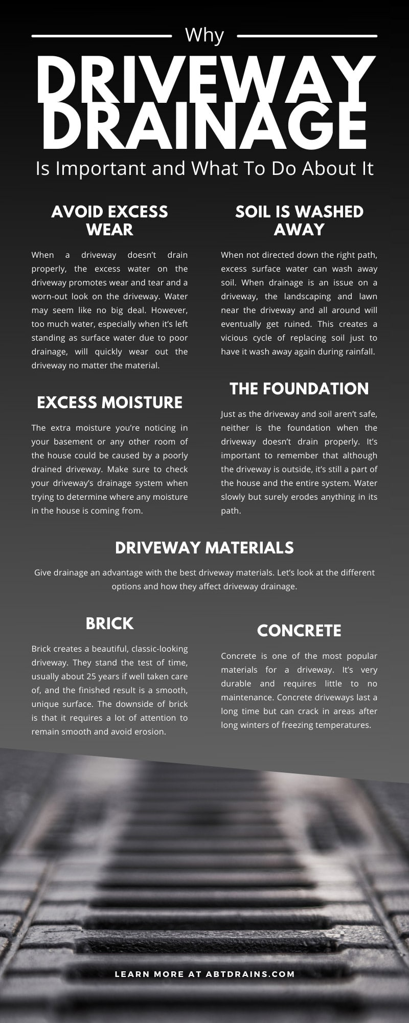 Why Driveway Drainage Is Important and What To Do About It